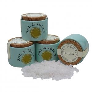 Sal de Ibiza - Fleur de Sel - Keramikgefäß Mini