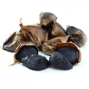 Schwarzer Knoblauch - Black Garlic mit Schale 125 g