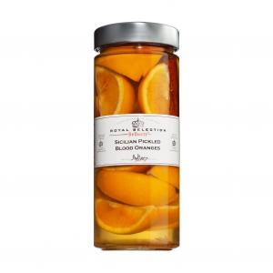 Sicilian Pickled Blood Oranges (eingelegte Blutorangen)
