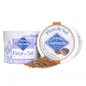 Fleur de Sel von Guérande mit Zimt und Pfeffer