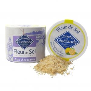 Fleur de Sel von Guérande mit Zitronenzesten