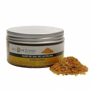 Flor de Sal von La Palma mit Curry