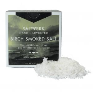 Saltverk - Birch Smoked Salt (Rauch) - Meersalzflocken