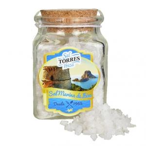 Grobe Meersalzkristalle von Ibiza