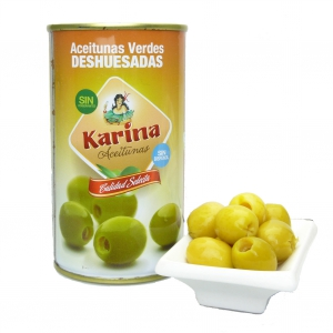 Karina - grüne Oliven ohne Kern