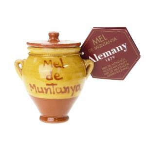 Mel de Muntanya - Gebirgshonig im Keramiktopf