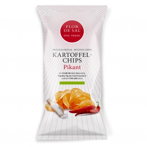 --------  MHD 18-10-21  -------- Flor de Sal d'es Trenc - Kartoffelchips mit Paprika (Pikant)