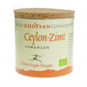 Khoysan Ceylon-Zimt gemahlen