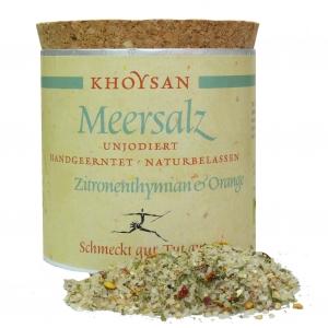 Khoysan Meersalz mit Zitronenthymian und Orange