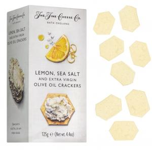 Cracker mit Lemon, Meersalz & Olivenöl