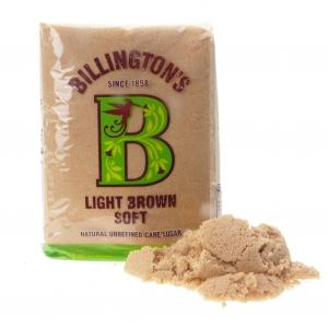 Billington´s Light Brown Soft Cane Sugar