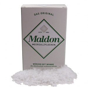 Maldon sea salt - pure flaky crystals - 250 g