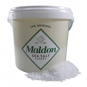 Maldon sea salt - pure flaky crystals - 1,5 kg