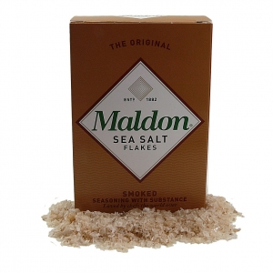 Maldon smoked sea salt - pure flaky crystals