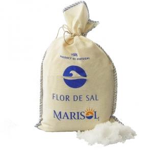 Flor de Sal von Marisol® im Stoffbeutel 250 g