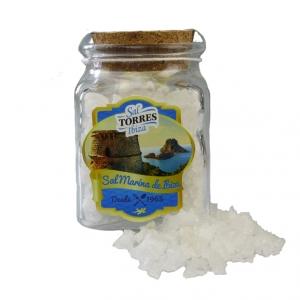 Grobes Meersalz von Ibiza - 70 g Glas