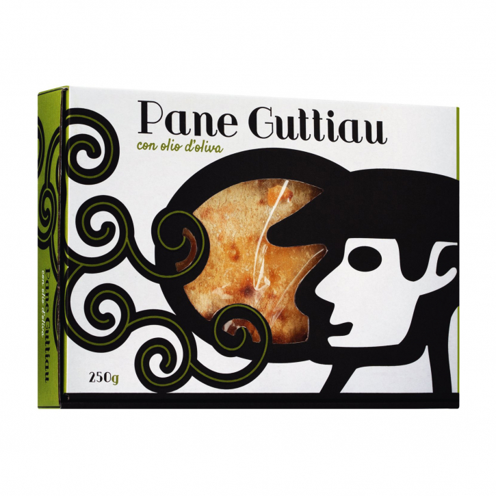 Pane Guttiau - Sardisches Brot mit Olivenöl