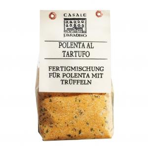 Polenta al Tartufo (mit Sommertrüffeln)