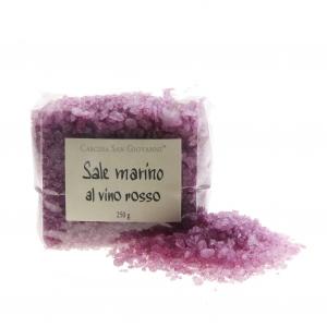 Sale marino al vino rosso - Meersalz mit Rotwein