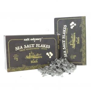 Salzflocken aus Griechenland - Black