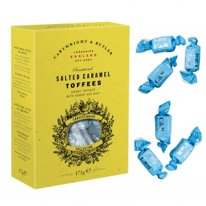 Sea salted Toffees - Karamellbonbons mit Meersalz