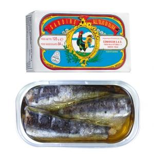 Sardine all'olio di oliva -  Sardinen in Olivenöl