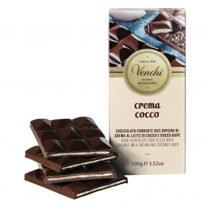 Coconut Bar - Zartbitterschokolade mit Kokos