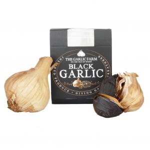 Black Garlic aus Grossbritiannien - 2 ganze Knollen