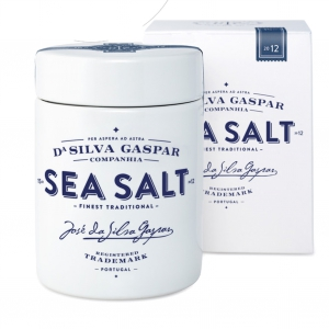 Sea Salt Algarve coarse - Porzellanbehälter