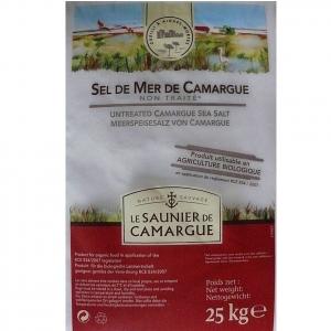 Le Saunier de Camargue - Sel gros séché - 25 kg