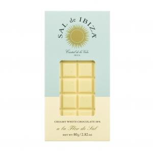 ----------  MHD 09-21  ---------- Creamy white Chocolate al la Flor de Sal