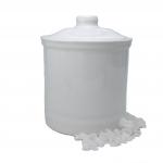 Terracotta Behälter weiss - für Meersalz