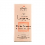 Vollmilchschokolade mit Butterkeks und rosa Andensalz - MHD 09-19
