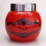 Salzbehälter kugelform für Meersalz - Rot