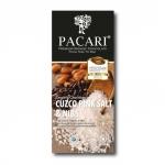 PACARI - Schokolade mit Cuzco Salz und Kakao-Nibs