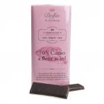 Zartbitterschokolade mit Fleur de Sel - MHD 06-20