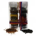 Wikinger-Kalahari®-Rauchsalz und Tiger Malabar Pfeffer