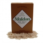 Maldon smoked sea salt - pure flaky crystals