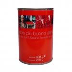 Ganze geschälte San Marzano Tomaten