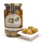 La Masrojana - grüne Manzanilla-Oliven mit Stein