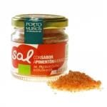 Meersalz mit geräuchertem Paprika - fein vermahlen - MHD 04-17