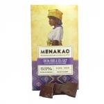 Menakao - Schokolade mit Kakaosplittern und Fleur de Sel