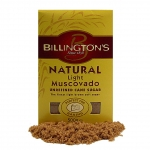 Billington´s Light Muscovado Cane Sugar - MHD 08-18