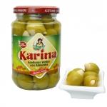 Karina - grüne Oliven mit Mandeln gefüllt