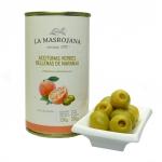 La Masrojana - Manzanilla-Oliven gefüllt mit Orange