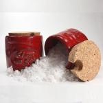 Pot rouge Fleur de Sel - inklusive 1 Holzschäufelchen