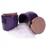 Pot Fleur de Sel violet - inklusive 1 Holzschäufelchen