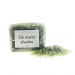 Sale marino al basilico - Meersalz mit Basilikum - MHD 01-20