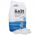 Grobes Meersalz aus Griechenland - 1 kg Packung