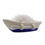 Salzschiff mit Schäufelchen - ideal für Fleur de Sel
